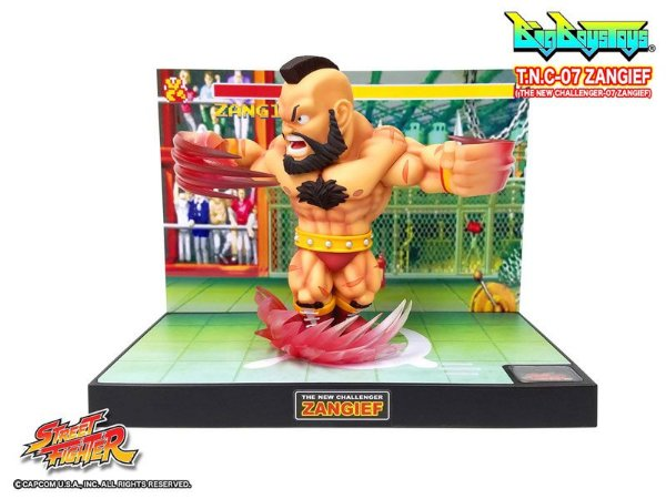 Zangief Street Fighter T.N.C Big Boys Toys Original