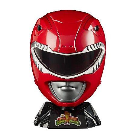 Capacete Ranger Vermelho Power Rangers Mighty Morphin Lightning Collection Hasbro Original