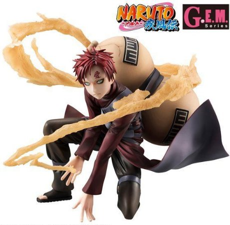 Gaara Naruto Shippuuden G.E.M. Series Megahouse Original