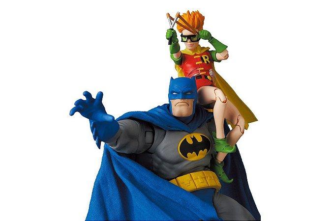 Batman & Robin Dc Comics Batman o retorno do cavaleiro das trevas MAFEX No.139 Medicom Toy Original