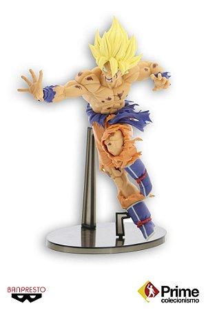 Goku Super Sayajin Dragon Ball Z Scultures 5 Banpresto Original