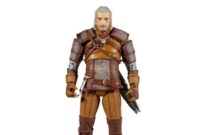 Geralt de Rivia Witcher Gold Label Collection McFarlane Toys Original