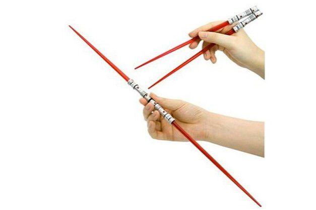 Hachi Star Wars Darth Maul LighSaber ChopSticks Kotobukiya Original