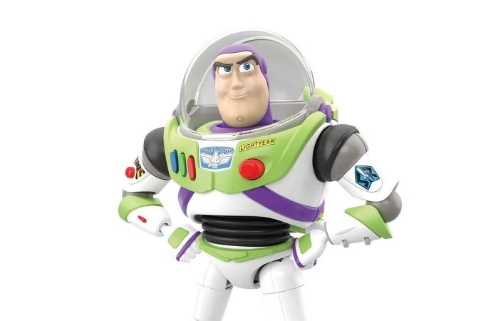 Buzz Lightyear Toy Story 4 Plastic Model Bandai Original