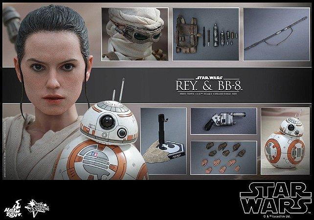 [ENCOMENDA] Rey & BB-8 Star Wars O despertar da Força Movie Masterpiece 337 Hot Toys