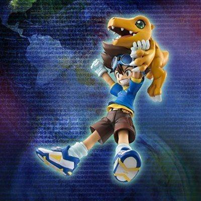 """Taichi Kamiya """"Tai"""" & Agumon G.E.M. Series Digimon Adventure Megahouse Original"""