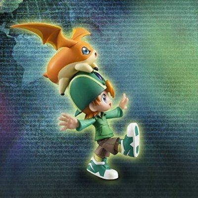 """Takeru Takaishi """"T.K."""" & Patamon G.E.M. Series Digimon Adventure Megahouse Original"""