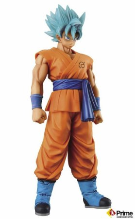 [ENCOMENDA] Goku Super Sayajin God Dragon Ball Master Stars Piece Banpresto Original
