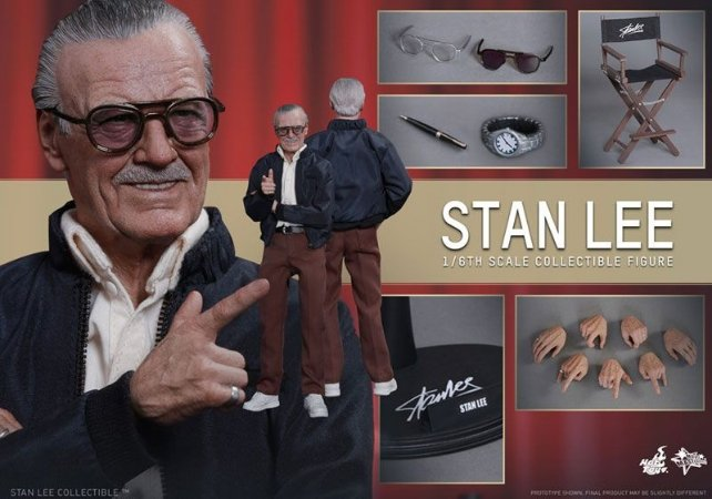 [ENCOMENDA] Stan Lee Hot Toys 1/6