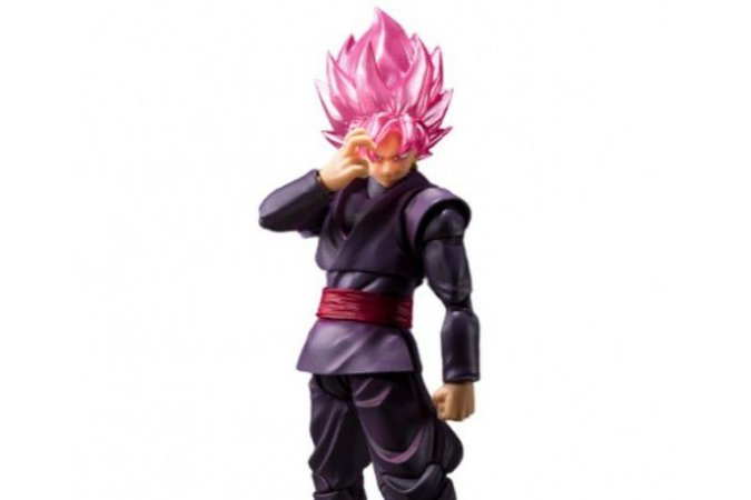 Goku Black Super Saiyajin Rose Dragon Ball Super S.H. Figuarts Bandai Original