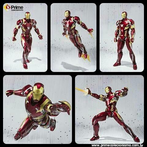 [ENCOMENDA] Iron man Mark 46 S.H. Figuarts Capitão America Civil War Bandai Original