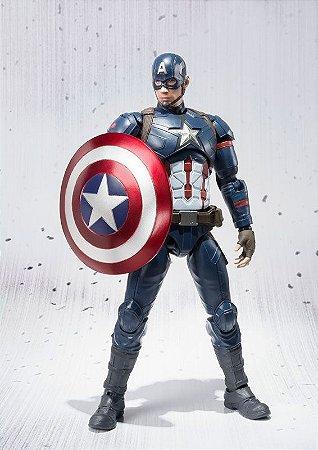 Capitão America S.H. Figuarts Capitão America Civil War Bandai Original