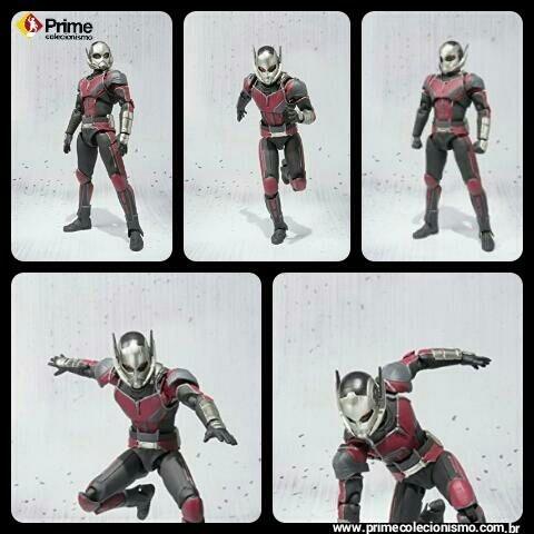 Homem Formiga Capitão America Guerra Infinita S.H. Figuarts Bandai Original
