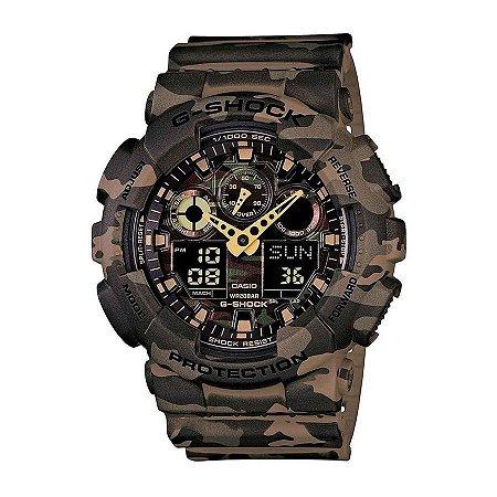 9b6e11d13ce Relógio Casio G-shock Ga-100cm5adr 100% Original - SPA Relojoaria
