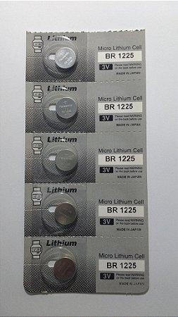 f7b9d62c44e BATERIA PANASONIC BR1225 - SPA Relojoaria