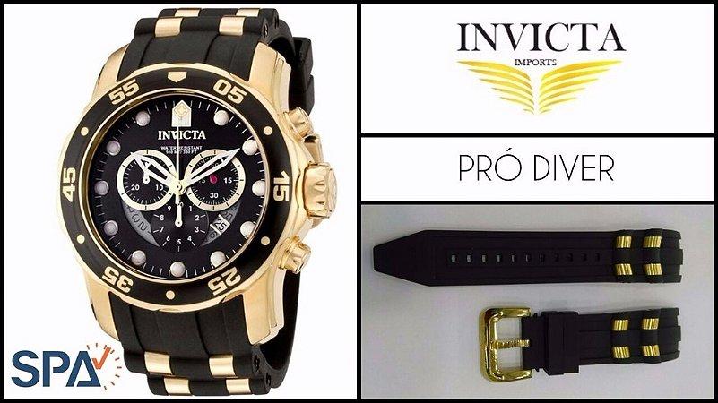 96fce527aff Pulseira Relógio Invicta Prodiver 6983 6981 - SPA Relojoaria
