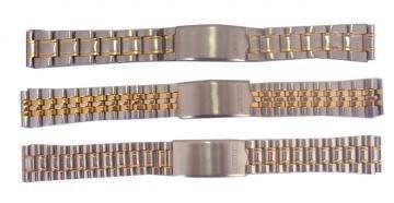 Pulseira de aço mista DO N°12 AO N°20 - SPA Relojoaria 7b5b1fb67f