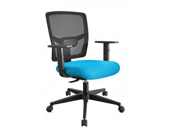 Cadeira Escritório Eco Encosto em Tela c/ BackSystem *Ajuste de inclinação Encosto*
