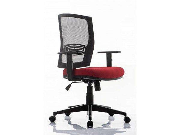 Cadeira Escritório Snap Bx Encosto em Tela *Ajuste de inclinação Sincronizado*