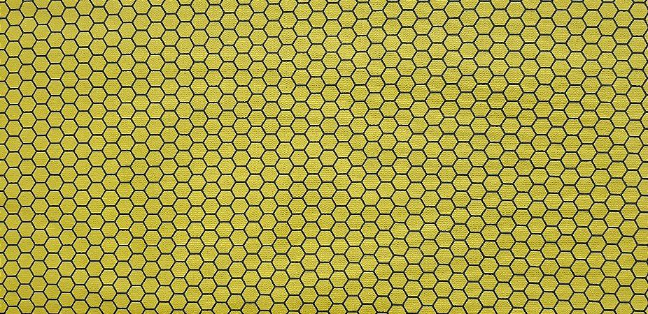 Colmeia. Tecido 100% Algodão. NV0045 (50x140cm)
