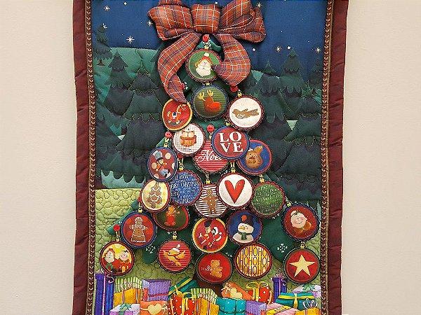 Árvore de Natal. Painel Digital
