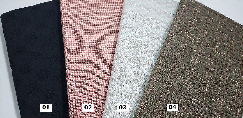 Taupe. Assorted 01. Tecido Japonês 100% Algodão (25cm X 55cm)