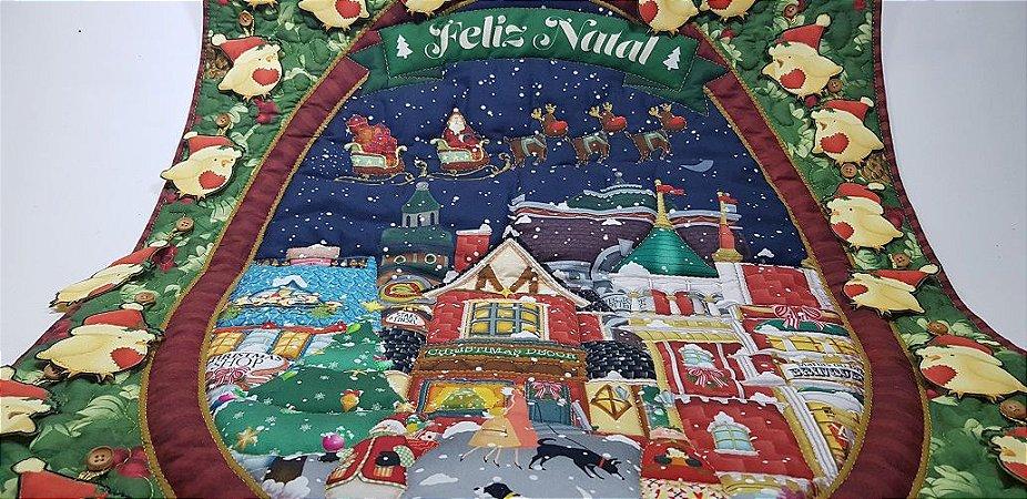 Piu-Piu de Natal. Painel Digital