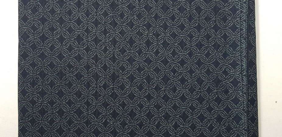 Navy Cotton.  Tec.Tradicional Japonês. TI039 - 50 x 55cm