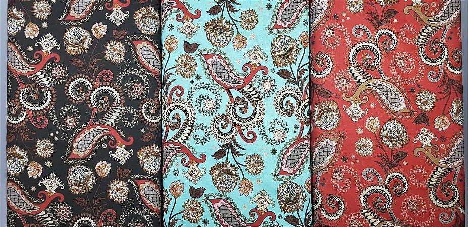 Cashmere. Tricoline Digital. TN080-50x140cm