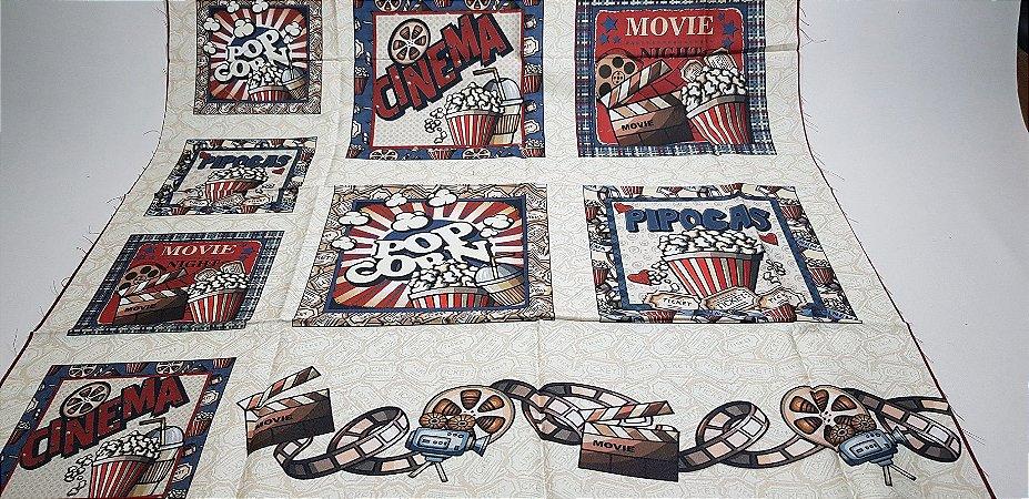 Cinema com Pipoca. Painel Digital