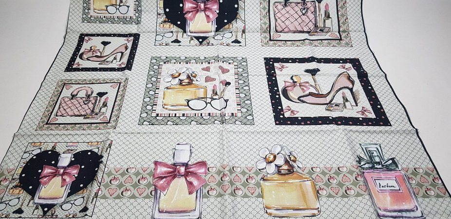Perfumes.Tecido Digital. T033 - Painel