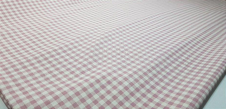 Xadrex em Algodão+Linho Nacional. 50x140cm