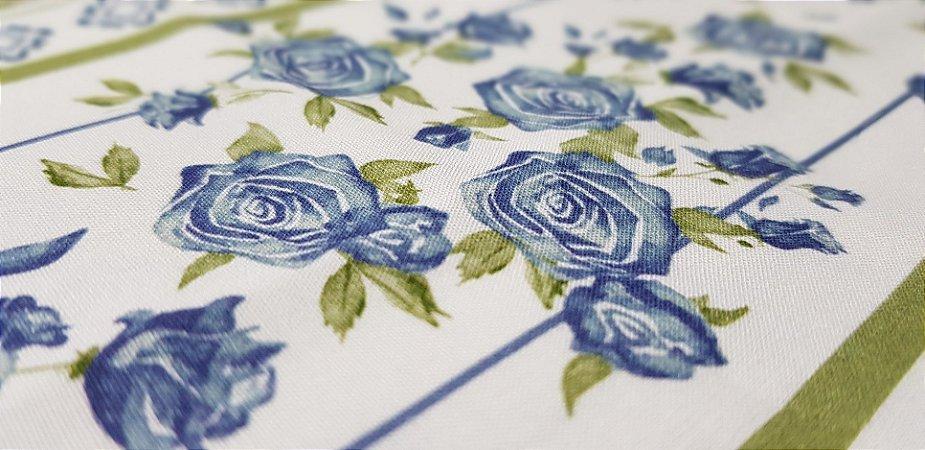 Floral Verde Azul. Tec.Digital-50x70cm