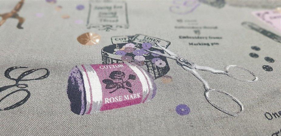 Sewing's Stuff. Algodão Japonês - 50x55cm