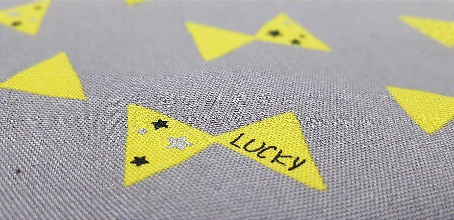 Lucky Tie. Algodão+Linho Japonês. 3400014 (50x55cm)