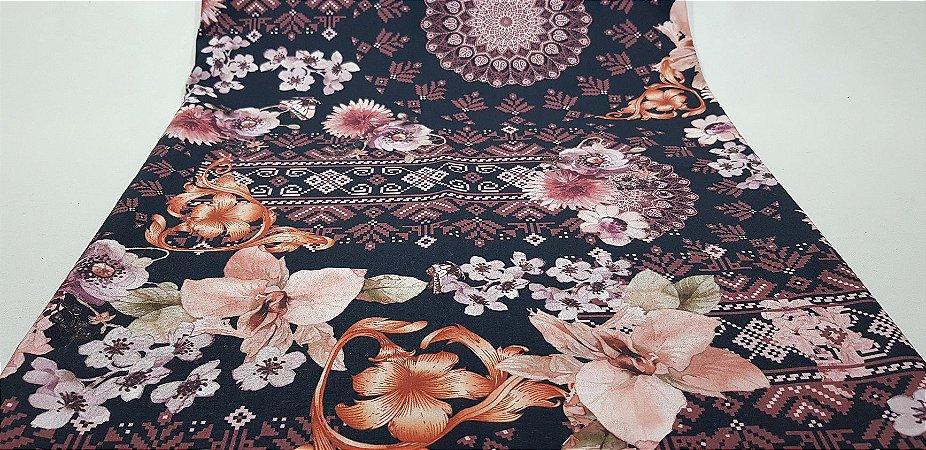 NF0016-Tec.Floral Digital (50x140cm)