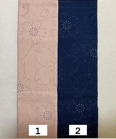 Hana-Fukin Sashiko Sampler. 31x31cm. JS0031