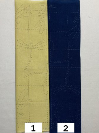 Hana-Fukin Sashiko Sampler (Líbelula) 31x31cm. JS0034