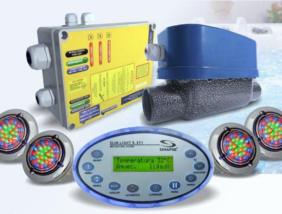 Controlador de SPA - Slim Light 5.371 - 4 Spots