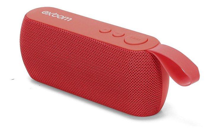 Caixa De Som Bluetooth Com suporte - Exbom