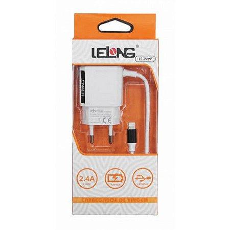 Carregador para iPhone 2.4A - 2 Saídas USB