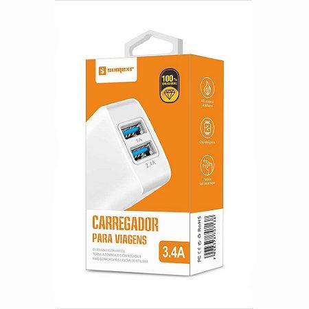 Fonte 3.4A - 2 Saídas USB - Sumexr