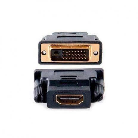 Adaptador DVI (24+1) Macho X HDMI Fêmea