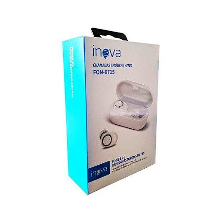 Fone de Ouvido Bluetooth - Airdots - Inova