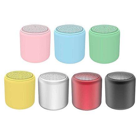 Mini caixa de som Bluetooth - Macaron 4,5CM