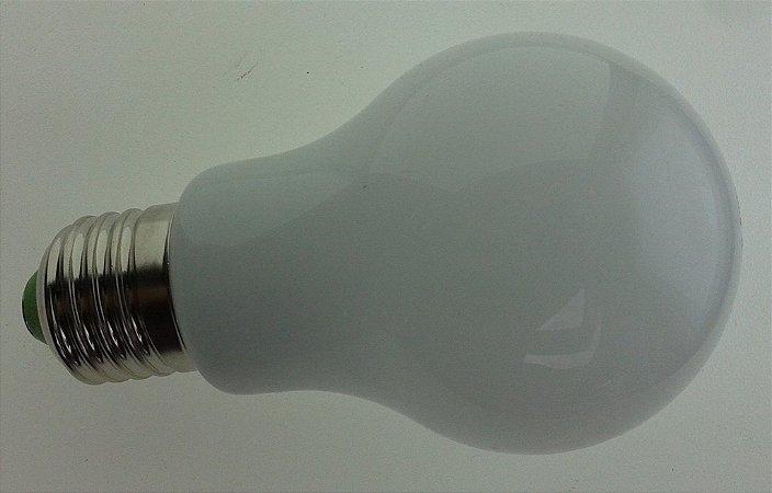 Lâmpada Tipo Bulbo de Vidro 7W (110/220V)
