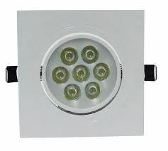 Spot Quadrado de LED 7W - Embutir