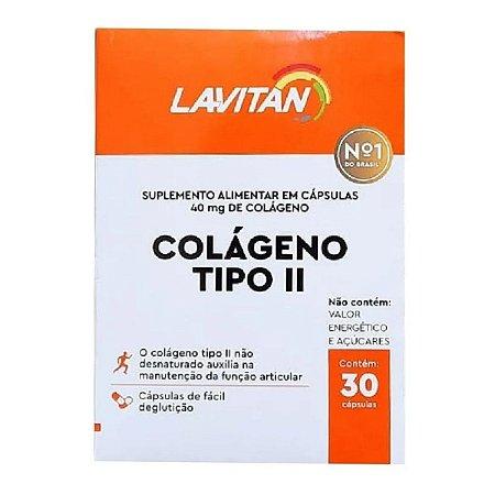 Lavitan Colageno Tipo II 40mg 30Caps - Cimed
