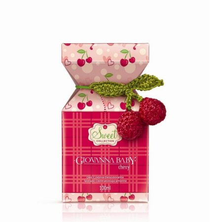 GIOVANNA BABY DEO COLONIA 50ML CHERRY
