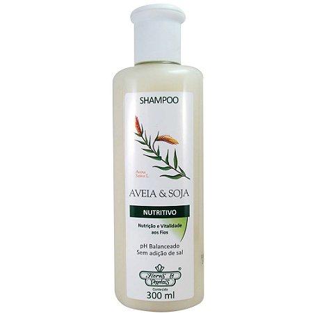 Shampoo Flores e Vegetais 300ml AVEIA E SOJA